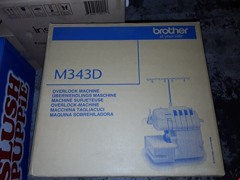 Lot 889 BROTHER M343D OVERLOCK MACHINE