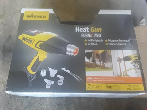 Lot 1255 WAGNER HEAT GUN FURNO 750