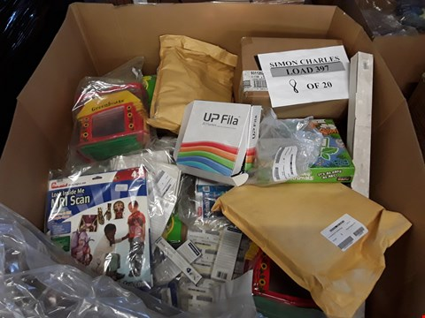 Lot 2335 PALLET OF ASSORTED ITEMS TO INCLUDE ALPHA ANIMALS GAME, MRI SCAN TOY, 3D FILAMENTS ETC
