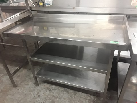 Lot 55 THREE TIER COMMERCIAL KITCHEN WORKSTATION