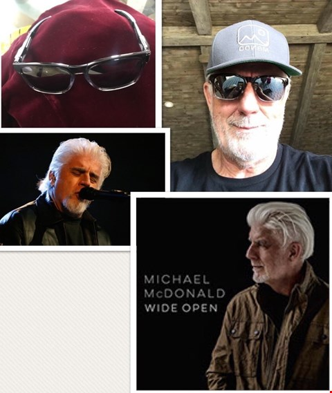 Lot 16 SHADES DONATED BY MUSICIAN MICHAEL McDONALD