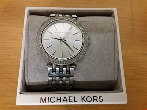 Lot 49 MICHAEL KORS DARCI STAINLESS STEEL WATCH RRP £329