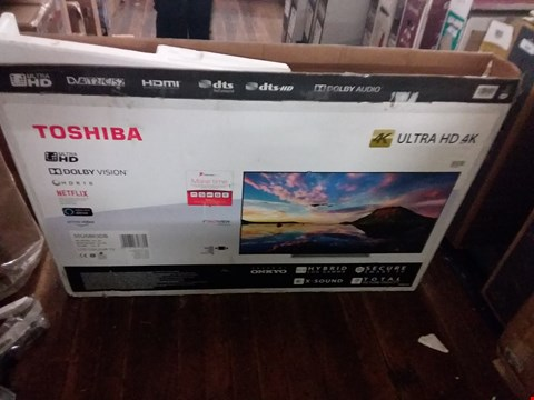 "Lot 3690 TOSHIBA 55"" 4K ULTRA HD TV"