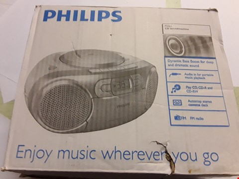 Lot 5022 PHILIPS CD SOUNDMACHINE