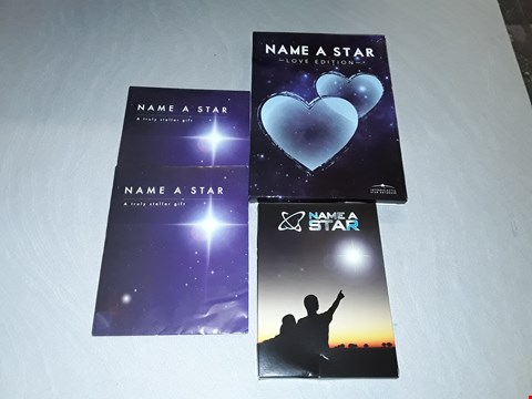 Lot 296 LOT OF 4 ASSORTED NAME A STAR GIFT SETS RRP £66.00