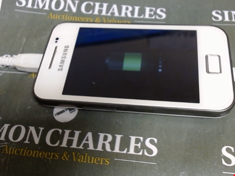 Lot 598 SAMSUNG GALAXY ACE GT-S5830i MOBILE PHONE