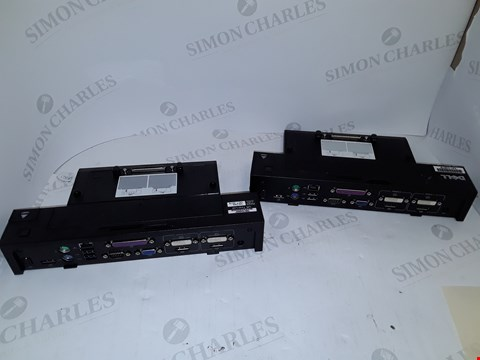 Lot 4135 LOT OF 2 ASSORTED DELL E-PORT PLUSES- K09A + PR02