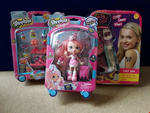 Lot 5097 THREE ASSORTED BOXED TOYS, INCLUDING SHOPKINS AND TAT2PEN