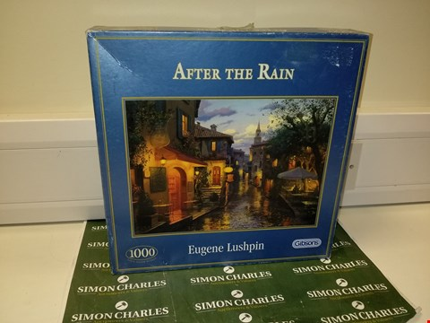 Lot 1403 GIBSONS EUGENE LUSHPIN AFTER THE RAIN 1000 PIECE PUZZLE