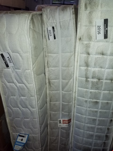 Lot 12200 AIRSPRUNG MICRO QUILT 130CM POCKET SPRING MATTRESS