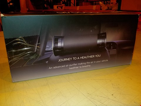 Lot 7002 AIRLABS AIRBUBBL IN-CAR AIR PURIFIER