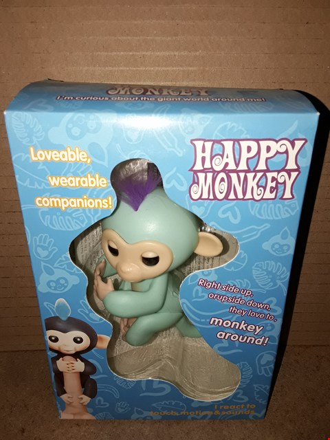 Lot 177 BRAND NEW BOXED HAPPY MONKEY - TURQUOISE