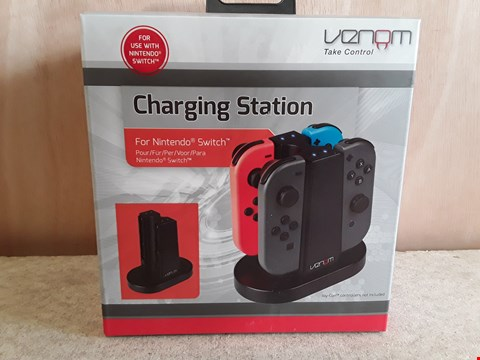 Lot 144 BRAND NEW BOXED VENOM NINTENDO SWITCH CHARGING STATION