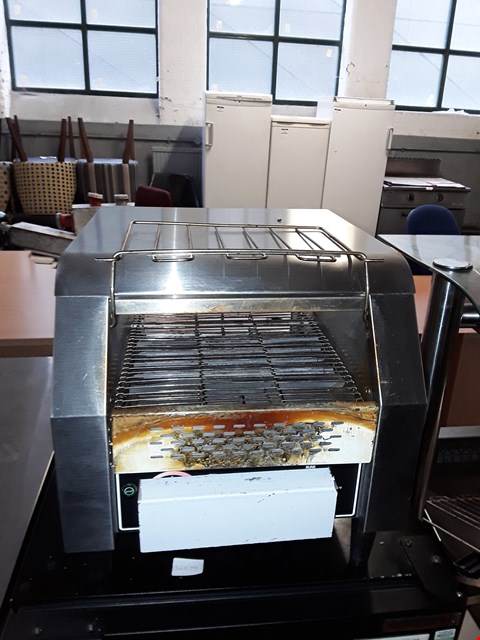 Lot 75 COMMERCIAL STAINLESS STEEL CONVEYOR TOASTER