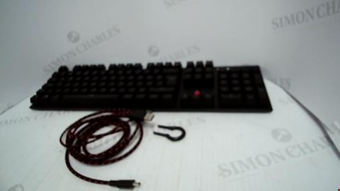 Lot 4501 HYPERX ALLOY FPS MECHANICAL GAMING KEYBOARD