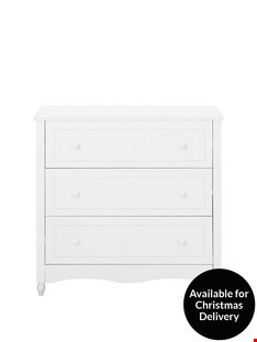 Lot 156 BOXED HOLLY 3 DRAWER CHEST  RRP £159.00