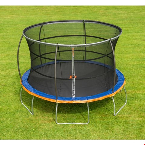 Lot 212 BOXED JUMP POWER UFO 12FT TRAMPOLINE & ENCLOSURE  RRP £299
