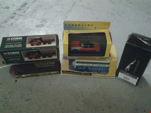 Lot 357 5 ASSORTED COLLECTABLE VEHICLES TO INCLUDE; CORGI, CSM AND BRITISH TOURING CARS
