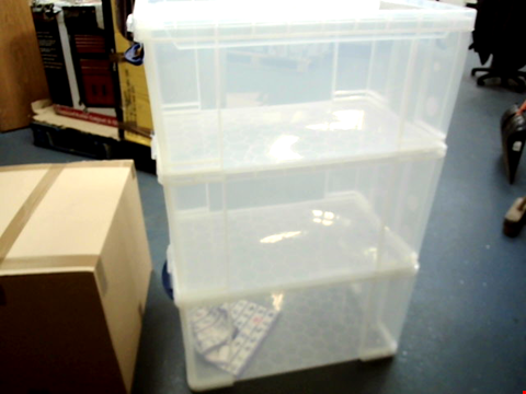 Lot 15444 3 REALLY USEFUL STORAGE BOXES