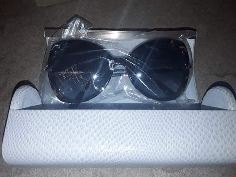 Lot 9247 GRADE 1 JIMMY CHOO TORT OVERSIZED SUNGLASSES  RRP £260.00