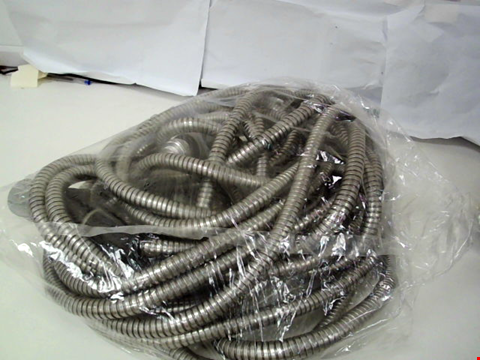 Lot 147 STAINLESS STEEL HOSE WITH SPRAY HEAD - 50FT