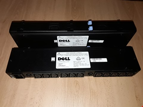 Lot 8128 LOT OF 2 DELL POWER DISTRIBUTION UNITS