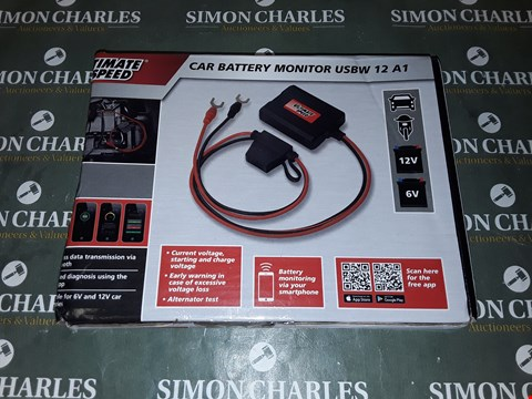 Lot 4140 ULTIMATE SPEED CAR BATTERY MONITOR