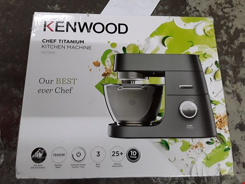 Lot 317 KENWOOD CHEF TITANIUM KITCHEN MACHINE