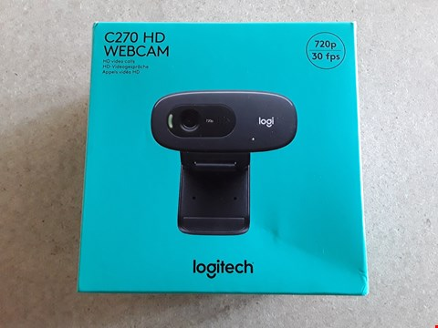 Lot 47 LOGITECH C270 HD WEBCAM