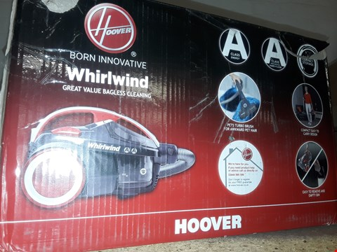 Lot 836 BOXED HOOVER WHIRLWIND PETS VACUUM  RRP £199.99