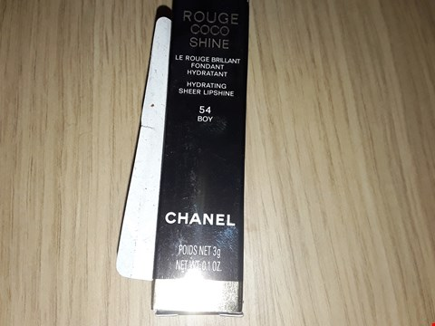 Lot 6 CHANEL ROUGE COCO SHINE HYDRATING SHEER LIPSHINE