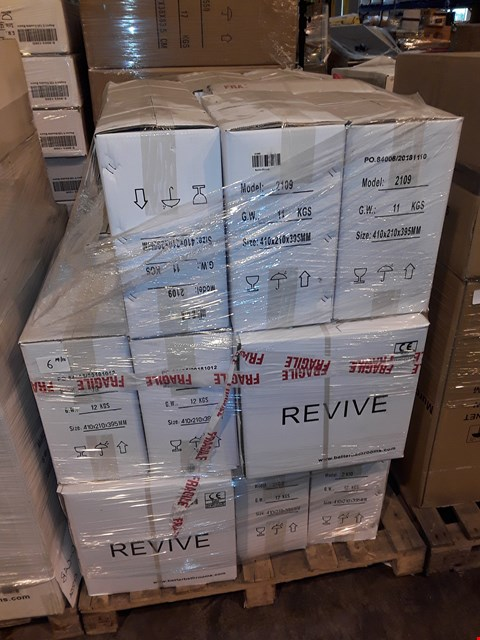 Lot 6 PALLET CONTAINING 26 BOXED REVIVE CISTERNS - 2109
