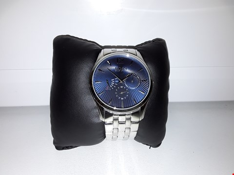 Lot 2155 BOSS BLACK GRAND PRIX BLUE CHRONOGRAPH DIAL STAINLESS STEEL BRACELET MENS WATCH RRP £349.00