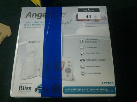 Lot 43 ANGEL CARE AC1300 BABY MONITOR