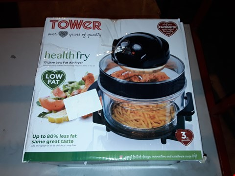 Lot 1994 TOWER HEALTH FRY 17L LOW FAT AIR FRYER