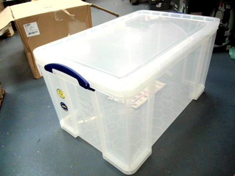 Lot 11047 REALLY USEFUL STORAGE 84L CONTAINER