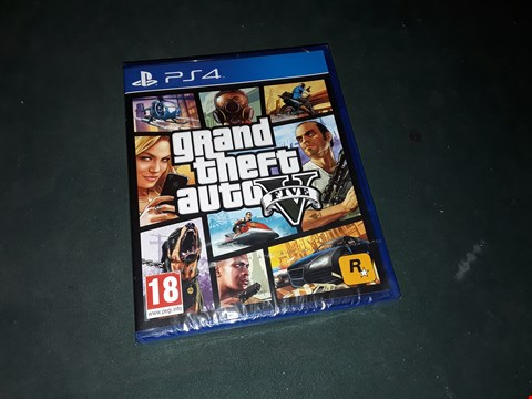 Lot 7181 BRAND NEW SONY PS4 GRAND THEFT AUTO 5 GAME  RRP £60