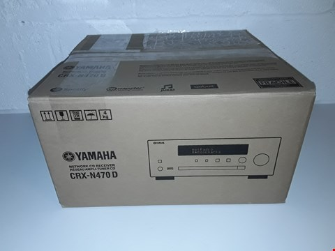 Lot 44 BOXED YAMAHA CRX-N470D NETWORK CD RECRIVER