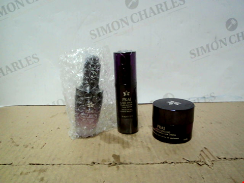 Lot 10205 PRAI BLACK ORCHID YOUTH ACTIVATING LUXE SERUM, OIL AND CREME