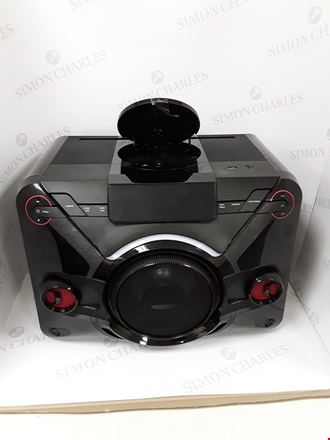 Lot 7030 LOT OF 3 ASSORTED BLACKWEB POWER HOUSE BLUETOOTH CD SPEAKERS