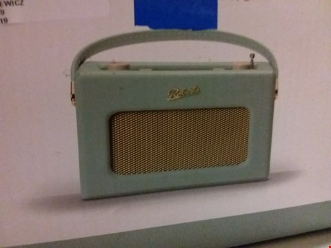 Lot 12009 ROBERTS REVIVAL RD70DE FM/DAB/DAB+ DIGITAL RADIO WITH BLUETOOTH - DUCK EGG