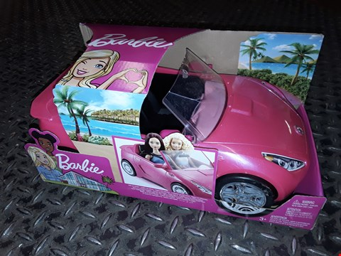 Lot 5088 BARBIE GLAM CONVERTIBLE  RRP £32.99
