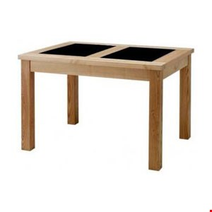 Lot 94 BOXED WILLIS & GAMBIER NATURAL FUSION FIXED TOP TABLE RRP £749