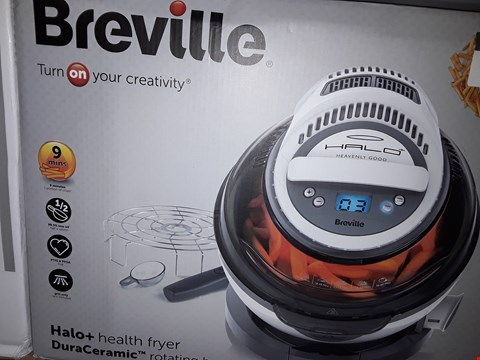 Lot 304 BREVILLE VDF122 HALO+ DURACERAMIC HEALTH FRYER RRP £159.99