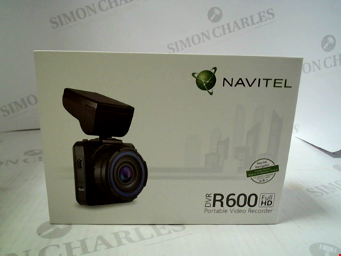 Lot 362 BRAND NEW NAVITEL DVR R600 PORTABLE VIDEO RECORDER