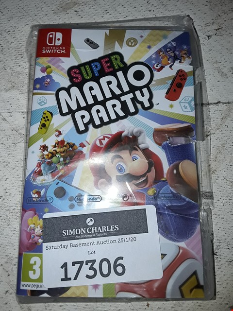Lot 17306 SUPER MARIO PARTY FOR NINTENDO SWITCH