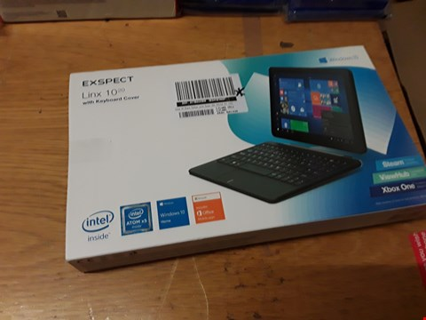 "Lot 172 BOXED EXSPECT LINX 10"" TABLET  RRP £249"