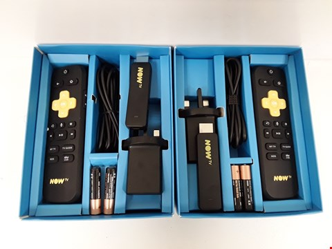 Lot 70 LOT OF 2 ASSORTED NOW TV SMART STICKS