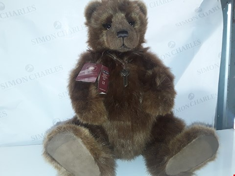 Lot 648 CHARLIE BEARS HELENA AND HOPE LIMITED TO 1500 PIECES NO.419 CERTIFICATE OF AUTHENTICITY