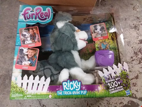 Lot 93 FUR REAL RICKY THE TRICK LOVIN PUP TOY